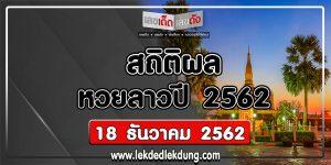 laos lottery result statistics 2019