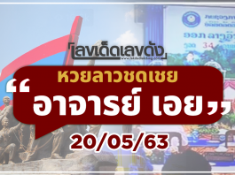 Laos lottery on Wednesday 20
