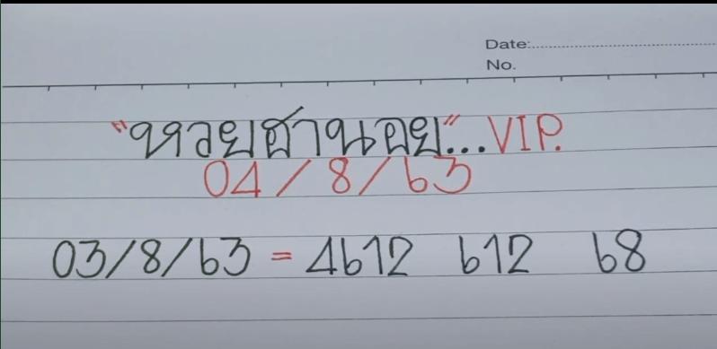 แนวทางฮานอยVIP 4/8/63